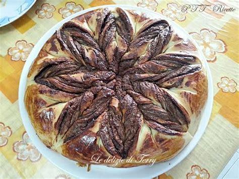 fiore di pan brioche con nutella fiore di pan brioche con nutella 2 ptt ricette