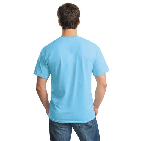Kaos Polos Gildan Blue Sapphire Size S gildan 5000 heavy cotton t shirt sky fullsource