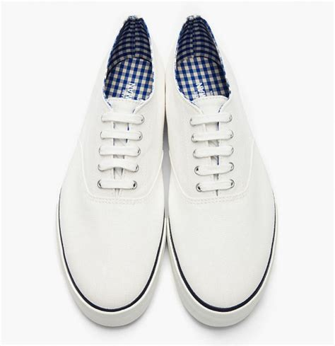 clean gingham lined sneakers soletopia