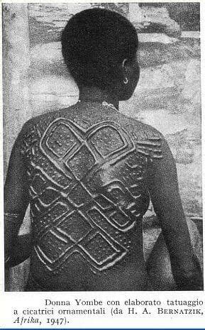 Crocodile Armour Safety Black why scarification continues in africa