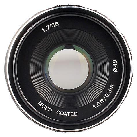 Lensa Meike 50mm Aps C F2 0 meike mk 35mm f1 7 e mount lens info