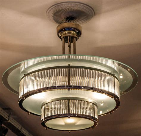 Lights And Chandeliers Deco Chandelier At 1stdibs