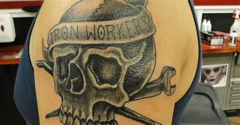 ironworker tattoos ironworker tatoo tatoo grey