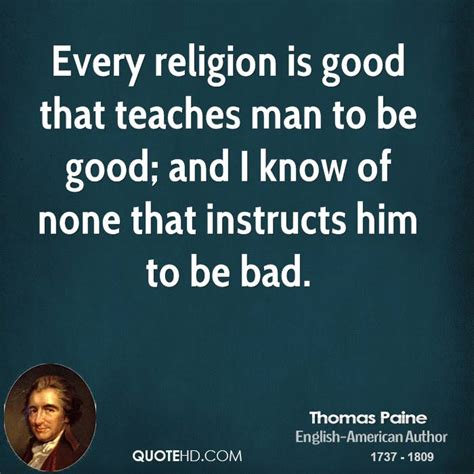 Faith Is Powerful paine on religion quotes quotesgram