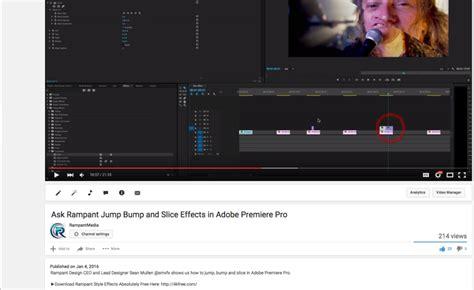 earthquake effect premiere glitch adobe premiere alpharutor