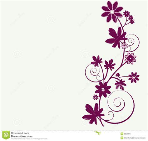 typography flowers disegno capriccioso dei fiori fotografie stock libere da diritti immagine 6352928