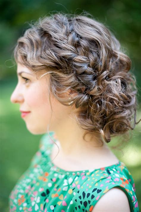 25 best ideas about curly bridesmaid hairstyles on curly homecoming hairstyles