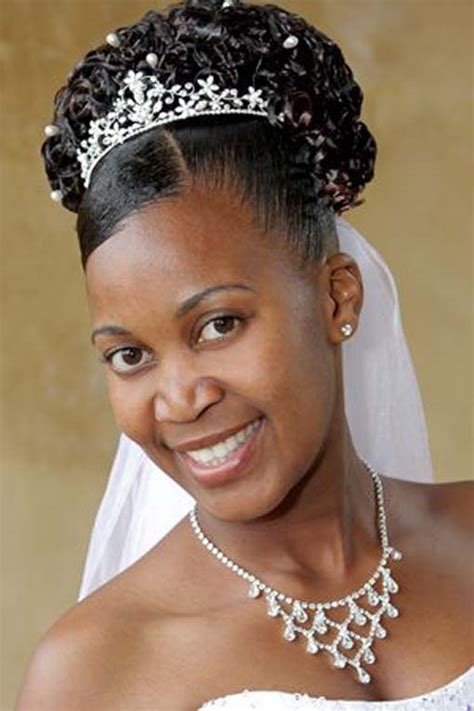 bridesmaid hairstyles afro hair african american wedding hairstyles 006 life n fashion