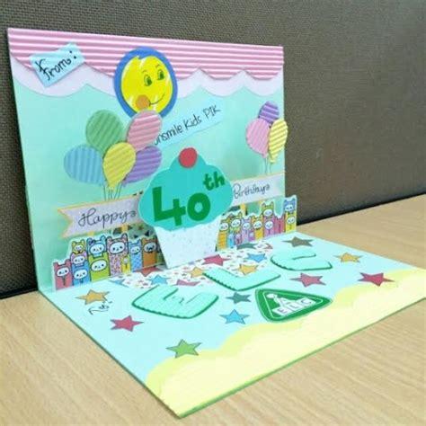 cara membuat kartu ucapan pop up ulang tahun serunya ulang tahun elc yang ke 40 the urban mama