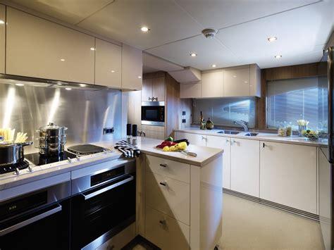 yacht kitchen luxury yacht interior design