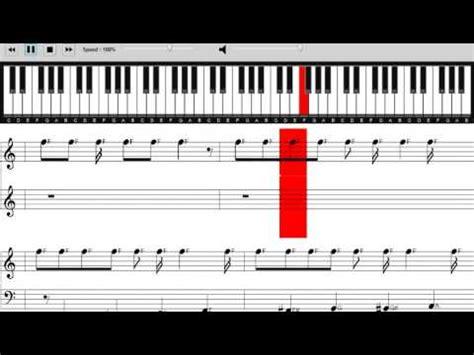 tutorial piano funk mark ronson bruno mars uptown funk sheet music