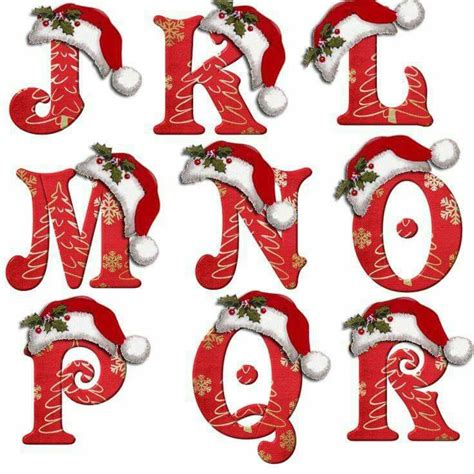 christmas alphabet  images  pinterest christmas alphabet seeds  christmas