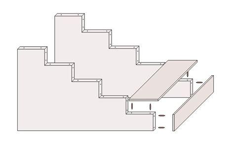 Treppe Aus Holz Selber Bauen by Holztreppe Selber Bauen 187 Bauplan