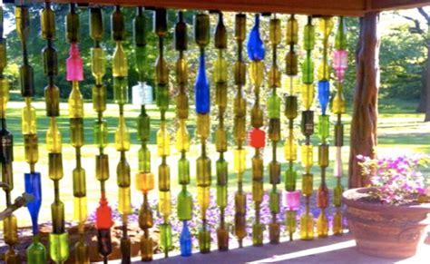 wine bottle ideas for garden