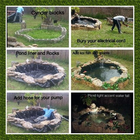 how to build a fish pond in your backyard best 25 above ground pond ideas on small