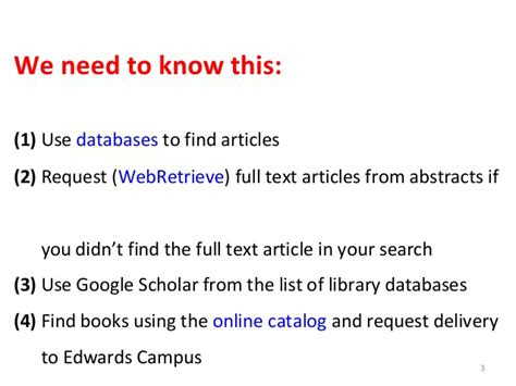 Research Database by Database Research