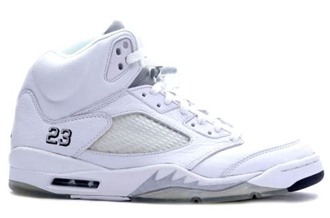 new year 5s release date release date the air 5 quot white metallic quot sole