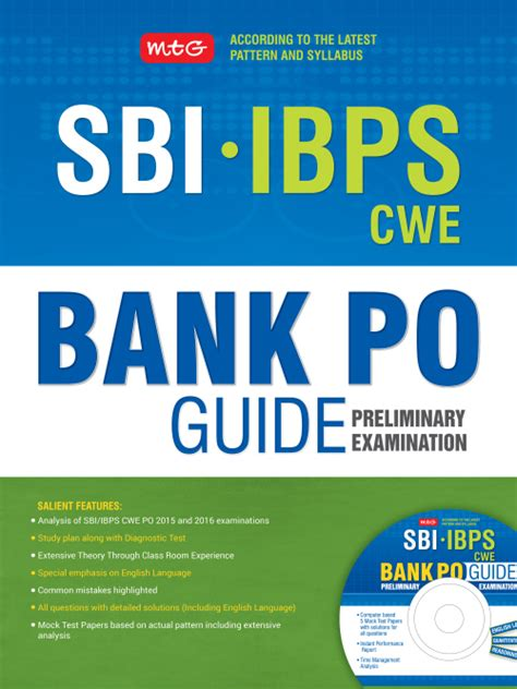 reference books sbi bank po exams sbi ibps cwe bank po guide preliminary examination