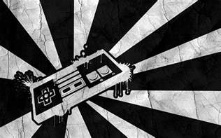 Black And White Nintendo Controller Wallpaper 50 Best Black And White