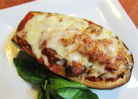 stuffed eggplant garlic and sea salt italian stuffed eggplant