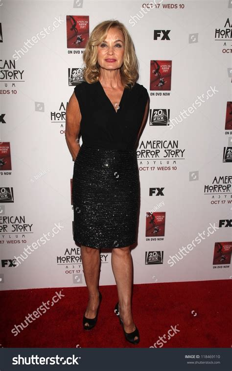 american horror story asylum premiere five minutes on huffpost lange premiere screening fxs american stock photo 118469110