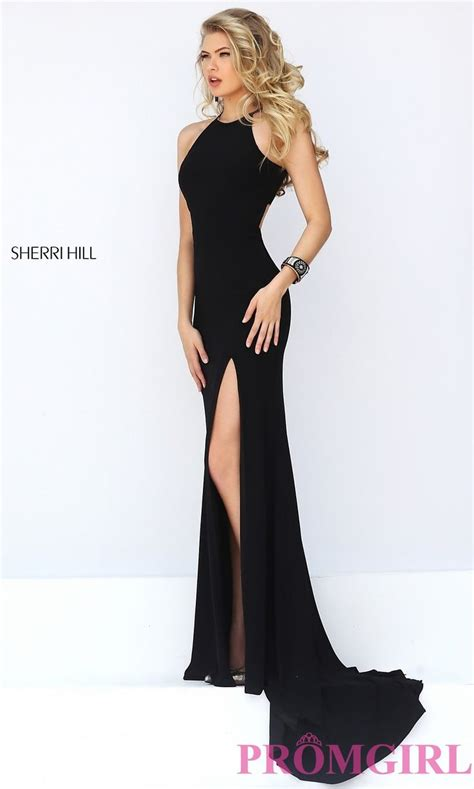 Hairstyles For Open Back Dresses by Sherri Hill Sleeveless Prom Dress With Open Back