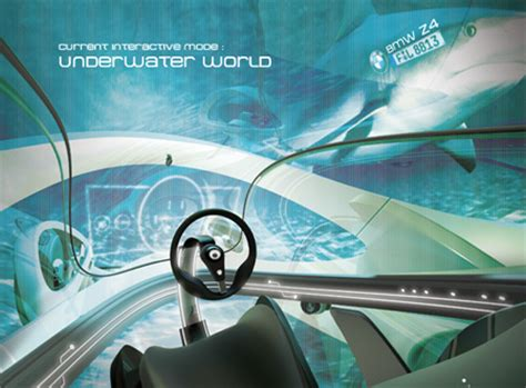 futuristic mobility concept with virtual reality windshield