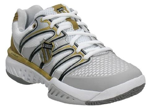 black and gold tennis shoes