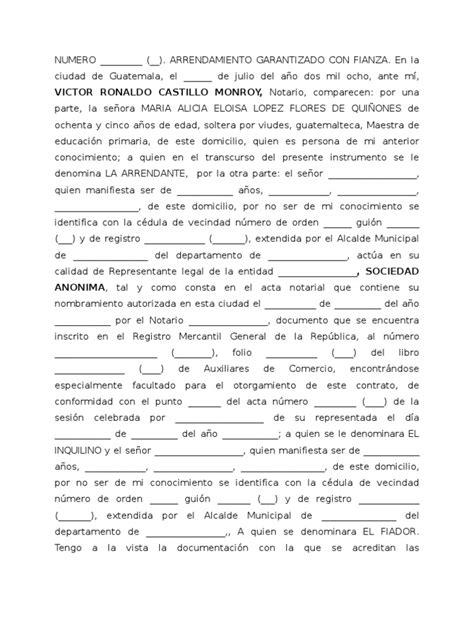 contrato de espacio para estacionamiento leyescompy contrato de arrendamiento av petapa 2008