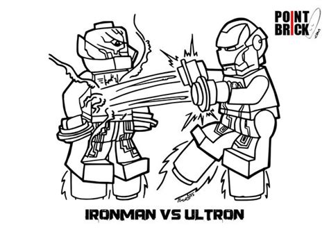 lego iron man 3 pages coloring pages