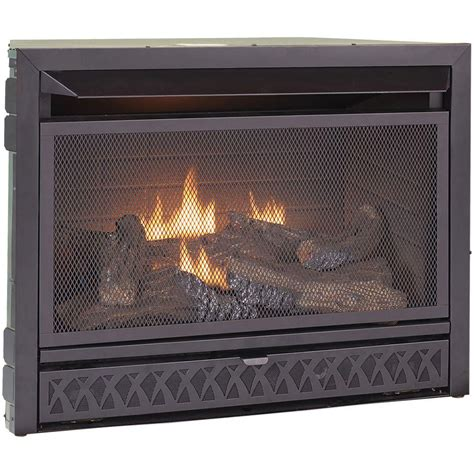 procom gas fireplaces procom gas fireplace insert duel fuel technology 26 000
