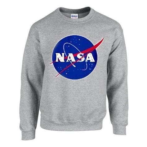 Hoodie Nasa Logo Black nasa logo grey sweatshirt