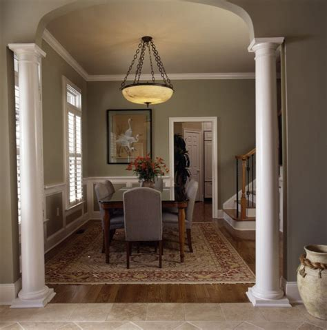 dining room columns 14 best images about dining room on pinterest green