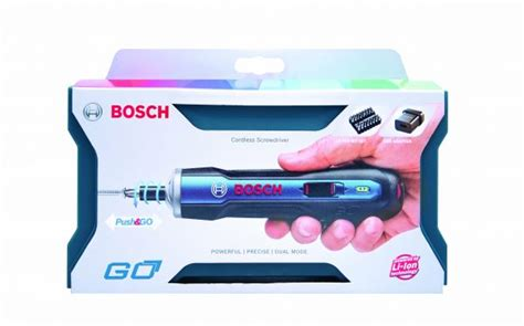 tools go bosch power tools launches bosch go the smart screwdriver