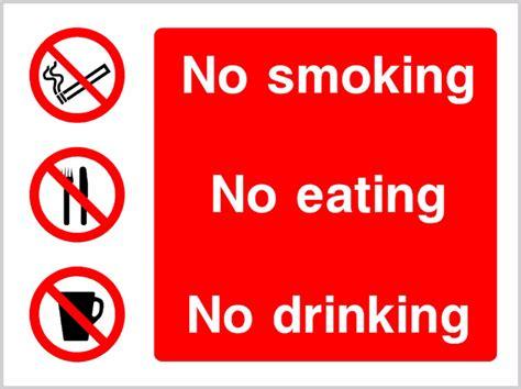 no smoking sign location multi purpose no smoking no eating no drinking safety sign