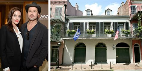 hollywood celebrity houses angelina jolie and brad pitt s brad pitt and angelina jolie just put their new orleans