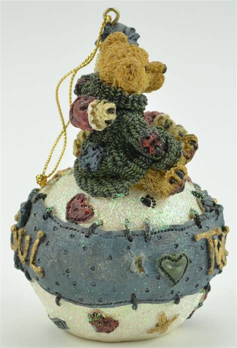 boyds ornaments boyds bears george and gracie forever resin tree