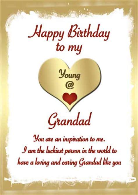 happy birthday cards for grandpa printable