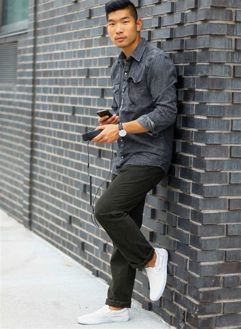 Vans Slip On Checkerboard Darkblue White 5 iconic vans trainers and how to wear them the idle