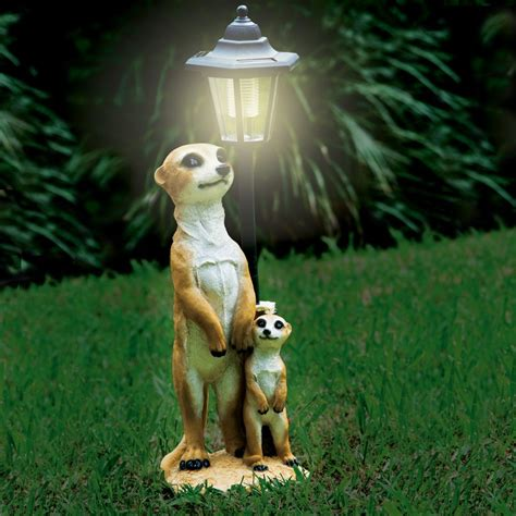 Solar Garden Light Meerkat Design Magnamail Australia Meerkat Solar Lights