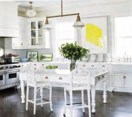 white kitchen island table farmhouse table cottage kitchen b five studio