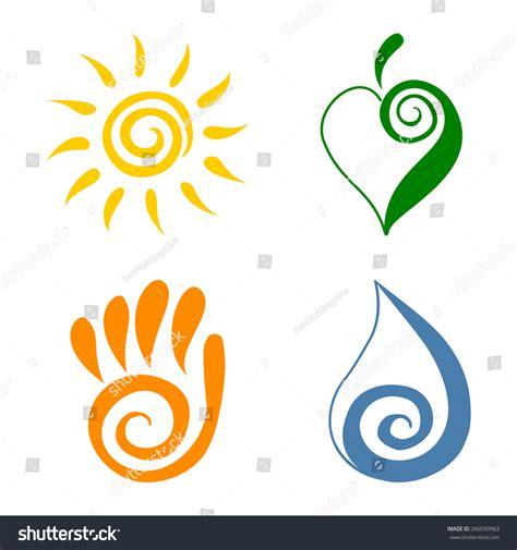Iring Tribal swirling sun vectors