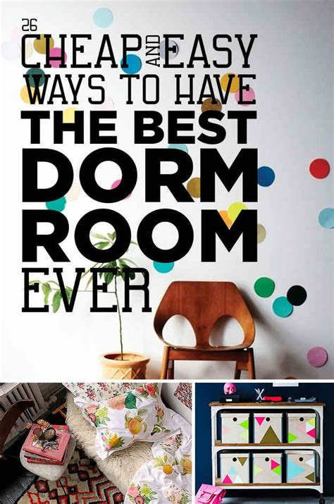 9 easy cost effective ways to decorate your dorm room 26 cheap and easy ways to have the best dorm room ever