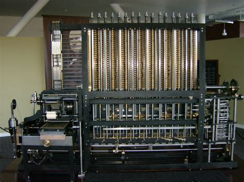 by charles babbage first computer image gallery difference machine 1820