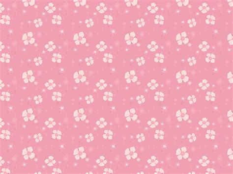 pink pattern free vector pink flowers pattern vector psdgraphics