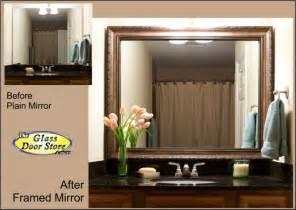 mirror frame kits for bathroom mirrors