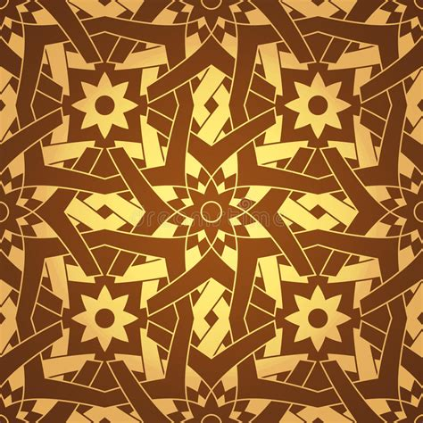 tileable pattern generator vector geometric cross flower seamless pattern stock