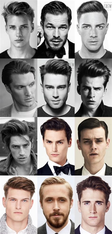 mens hairstyles throughout history key hairstyle trends from london collections men aw15