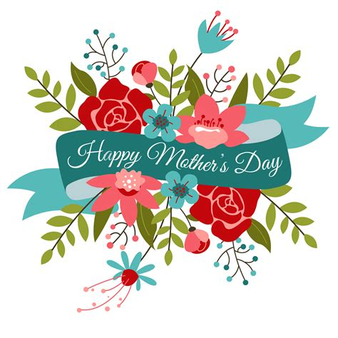 free s day clip bouquet clipart mothers day flower pencil and in color