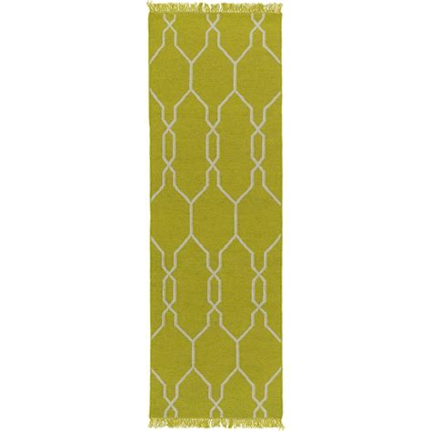 6 x 8 indoor outdoor rug artistic weavers hines peak lime 2 ft 6 in x 8 ft indoor outdoor rug runner s00151019129
